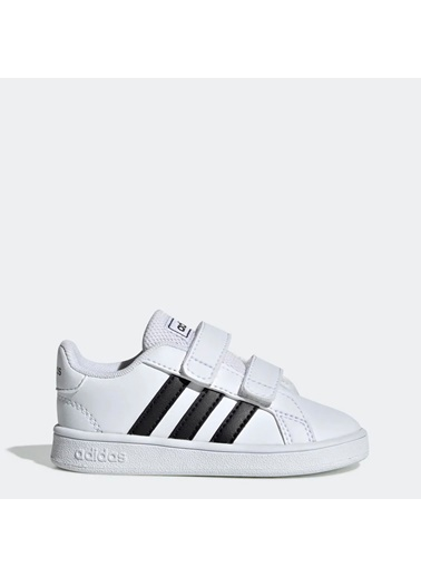 adidas Adidas Ef0118 Grand Court Bebek Spor Ayakkabısı Beyaz